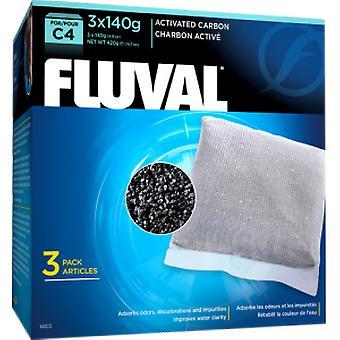Fluval C4 Carbón (Peces , Filtros y bombas , Material filtrante)