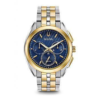 Bulova Miesten ' s CURV Chronograph Watch-98a160