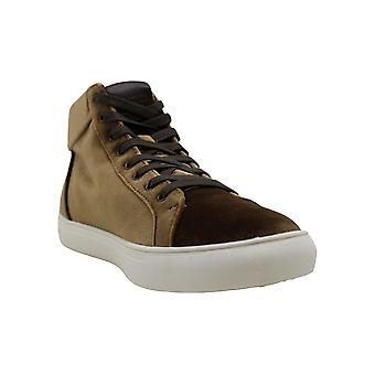 Kenneth Cole Reaction Men's Road High-Top Velvet Sneakers Men's Shoes