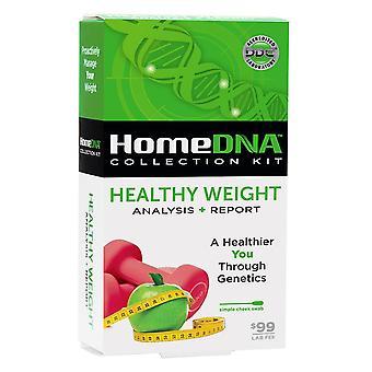 Homedna healthy weight test kit, 1 kit