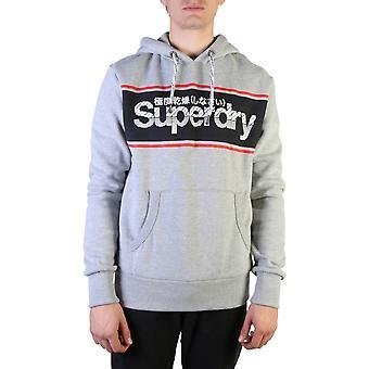 Superdry Original Herren Herbst/Winter Sweatshirt - grau Farbe 37616
