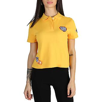Tommy Hilfiger Original Women Spring/Summer Polo - Yellow Color 40718