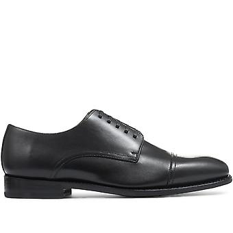 Jones Bootmaker Mens Goodyear Welted Leather Derby Shoes