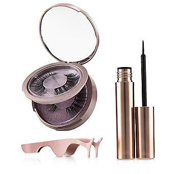 Shibella Cosmetics Magnetic Eyeliner & Eyelash Kit - # Attraction - 3pcs