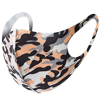 Allthemen Protective Mask Washable Dust-Proof Reusable Camouflage Adult Face Mouth Mask