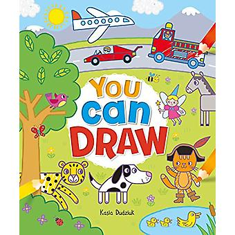 You Can Draw by Kasia Dudziuk - 9781788286060 Book