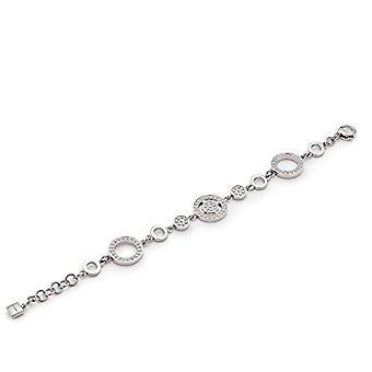 Leonardo Jewels Bracelets Link Women Steel_Stainless Glass