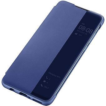 Officiel Huawei P30 lite Smart View Flip Cover - Bleu - 51993077