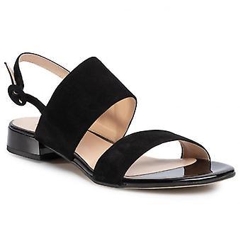 Hogl fröhlich schwarz Sandalen Frauen schwarz