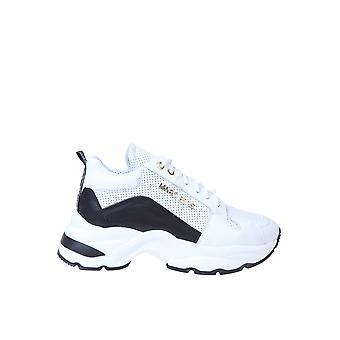 Marc Ellis Mesnk125 Women's White/black Leather Sneakers