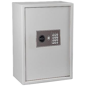 15x9x21 Inch Electronic Digital Keyless Lock 245 Key Storage Safe Box Cabinet Wall Mount for Home Office