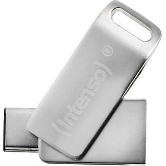 Intenso cMobile Line USB smartphone/tablet extra geheugen Zilver 64 GB USB 3.0
