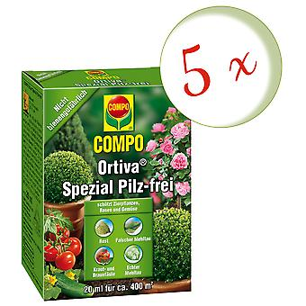 Sparset: 5 x COMPO Ortiva® Special Mushroom-Free, 20 ml