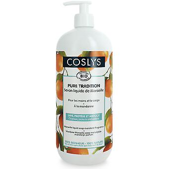 Coslys Marseille zeep Mandarina 1L