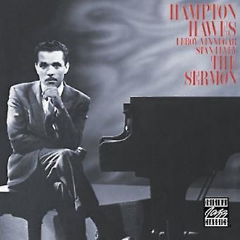 Hampton Hawes - importation USA Sermon [CD]