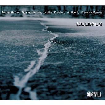 Morten Haxholm Quartet - Equilibrium [CD] USA import
