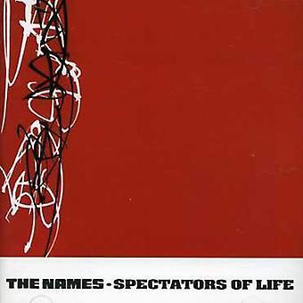 Names - Spectators of Life [CD] USA import