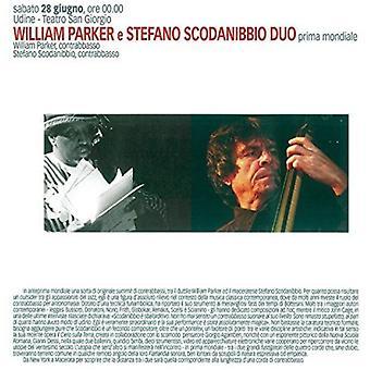 パーカー、ウィリアム Scodanibbio、ステファノ - 低音デュオ [CD] アメリカ インポート/