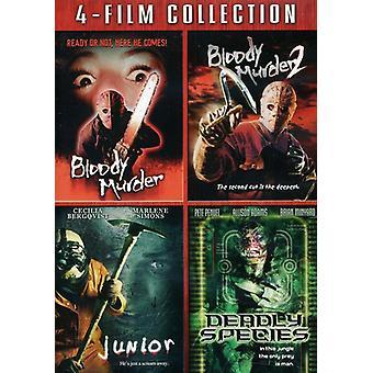 Meurtre sanglant 1-2/Junior/Deadly importation USA espèces [DVD]