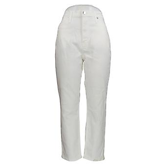 J. Crew Women's Cotton Slim Leg Jeans w/Pockets White