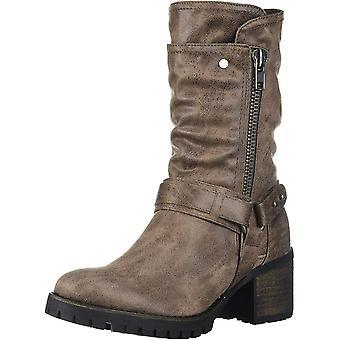 Carlos by Carlo Santana Women's Shoes G6245F1002 Leather Closed Toe Mid-Calf ...
