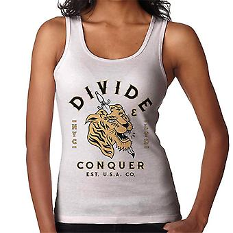 Divide & Conquer NYC Tiger Dagger Women's Vest