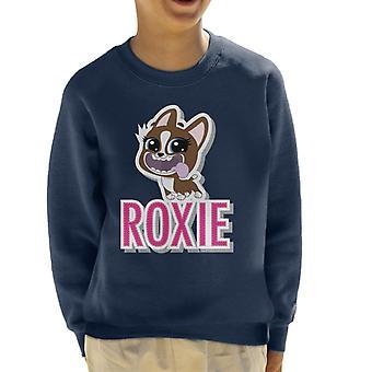 Littlest Pet Shop Roxie Cut Out Lettering Kid's Sweatshirt
