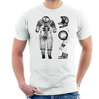 T-shirt NASA Apollo 14 A7 L tuta a pressione negativa X Ray uomo