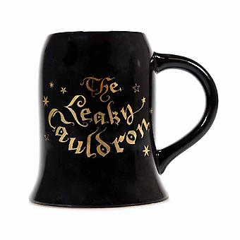 Harry Potter Mug The Leaky Cauldron Diagon Alley new Official Black Boxed