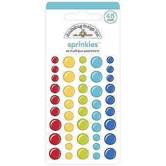 עיצוב שרבוט כל כך הרבה סוכריות מבחר משחק מילים (45pcs) (6031)