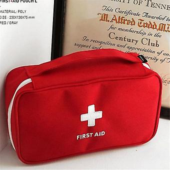 Portable Camping First Aid Kit Emergency Pill Bag Storage Case Waterproof Car Kits For Outdoor Travel