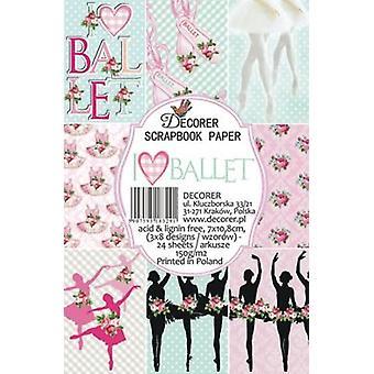 Decorer Ballet Paper Pack (7x10.8cm) (M33)