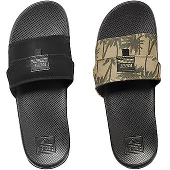 Reef Mens Stash Slip On Summer Beach Holiday Pool Flip Flops Sandals Sliders