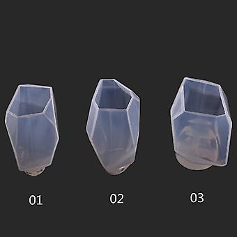 Crystal Irregular Geometric Jewelry Mold, Silicone Resin Ornaments Craft Making
