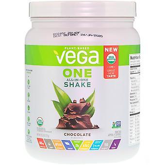 Vega, One, All-in-One Shake, Chocolate, 13.2 oz (375 g)