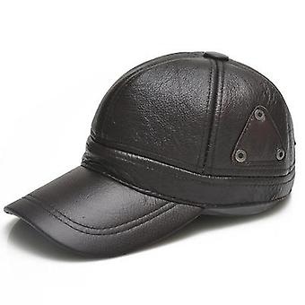 Heren's verstelbare gewatteerde baseball cap