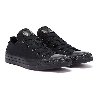 Converse Chuck Taylor All Star Low Mens Black Canvas Trainers