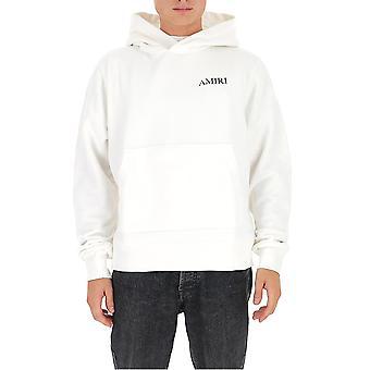 Amiri F0m02216tewht Men's White Cotton Sweatshirt
