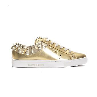 Trussardi Jeans Oro Gold Sneakers TR662972-EU36-US5-5