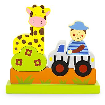 Ulysse Magnetic Standing Zoo Puzzle