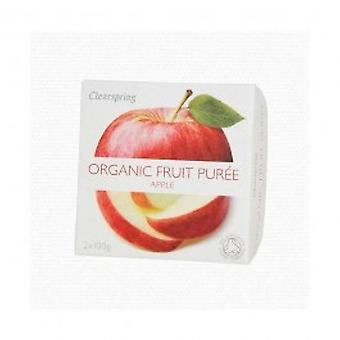 Clearspring - Fruit Puree Apple 2 X 100g