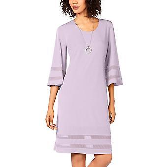 JM-collectie | Mesh-inzet schede jurk