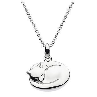 Dew sterling zilver 3D Pussy Cat hanger 9665HP021