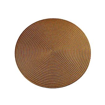 Homemiyn Hollow Round Place Mat Abrasion Resistant
