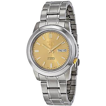 Seiko 5 Gent Watch SNKK13K1 - Stainless Steel Gents Automatic Analogue