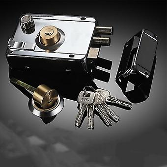 Door Lock Strong Deadbolt For Home Security Universal Exterior Anti-theft Accessory