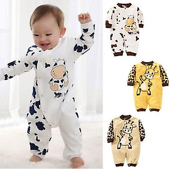 Animal Pattern Long Sleeve Sleepwear For Newborn