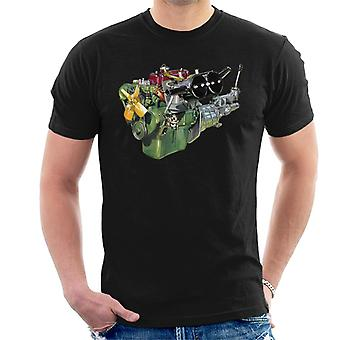 Austin Healey Engine British Motor Heritage Men's T-Shirt