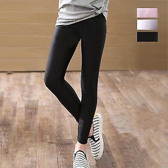 Skinny Long Pants, Bottoms Leggings, Elastic Trousers