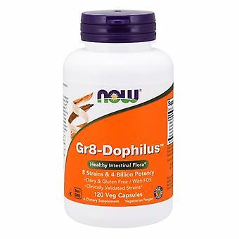 الآن الأطعمة Gr8-Dophilus، 120 قبعات الخضار
